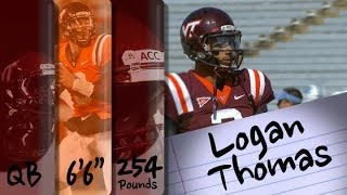 Official Highlights | Virginia Tech QB Logan Thomas