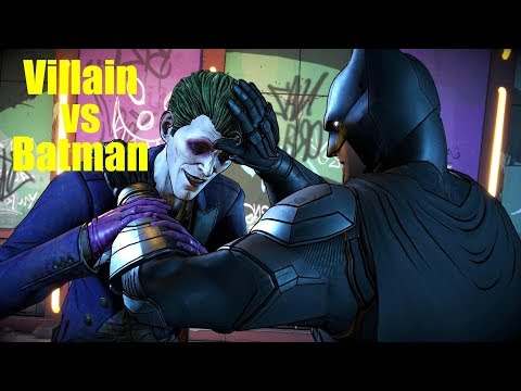 BATMAN Fighting VILLAIN JOKER - The Enemy Within Episode 5 Same Stitch GameModed