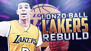 LONZO BALL LAKERS REBUILD NBA 2K17