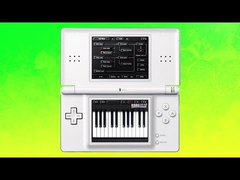 Making Music Using A NINTENDO DS GAME