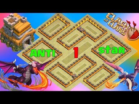 Best Th7 War Base 2018  Anti Dragon Anti Hog Anti 3 Star Anti 2 Star With 3 Air Defense