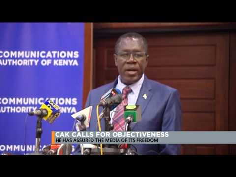 Communications Authority of Kenya urges journalists to be objective while reporting