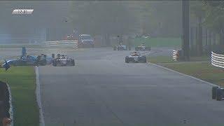 Italian Formula 4 Championship 2017. Race 3 Autodromo Nazionale Monza. Crash