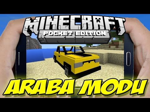 Minecraft PE ARABA MODU | Minecraft PE CAR MOD - 0.13.0 | 0.13.1