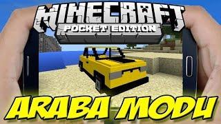 Minecraft PE ARABA MODU | Minecraft PE CAR MOD - 0.13.0 | 0.13.1