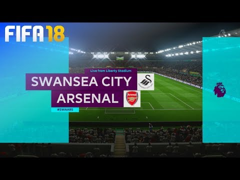 FIFA 18 - Swansea City vs. Arsenal @ Liberty Stadium