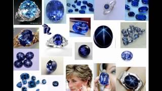 Подбор драгоценных камней в астрологии (сапфиры, бриллиант, гамет (хезонит), (кошачий глаз)