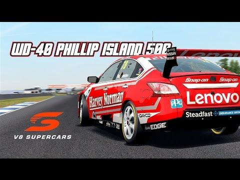 VASC: WD-40 Phillip Island 500 (V8 Supercar in Automobilista)