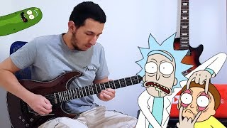 Rick and Morty Meets Guitar