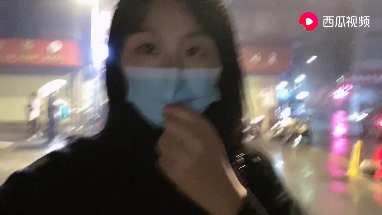 廣漂妹子在廣州打拼,從工廠忙到深夜12點半回家,廣漂生活不易! - YouTube