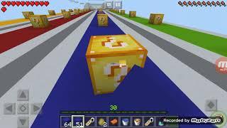 Le corse dei luckyblock in minecraft