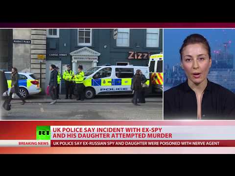 Russian ex-spy Sergey Skripal & daughter were exposed to nerve agent - UK police