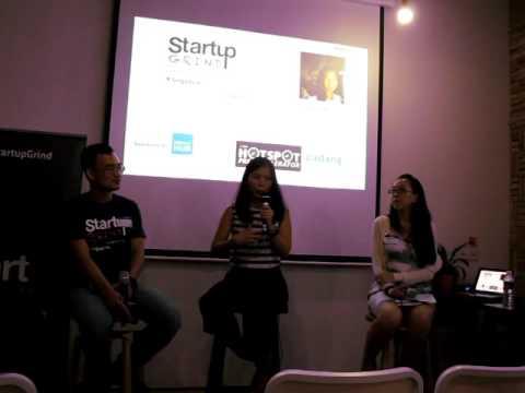 Grace Sai (The Hub Singapore) at Startup Grind Singapore