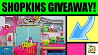 Free Stuff Shopkins Giveaway Contest #6 Open - Shopkins Toys Small Mart Play Set