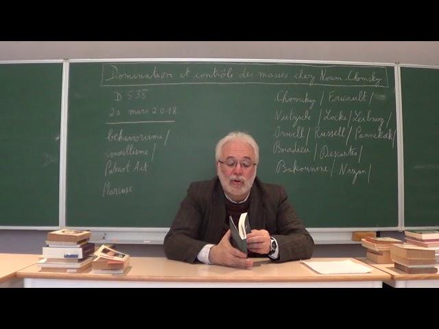 Contrôle et domination des masses chez Noam Chomsky