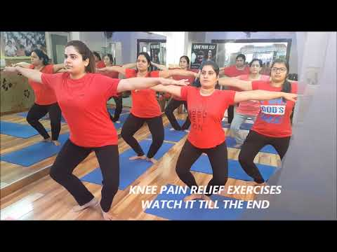 knee pain relief yoga exercises  stretches