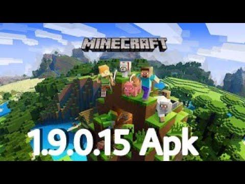 minecraft pocket edition latest version apk 1.9.0.15