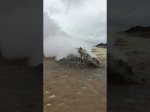Hverir hot springs Iceland