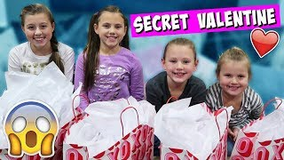 SECRET VALENTINE SURPRISE CHALLENGE! OPENING PRESENTS!