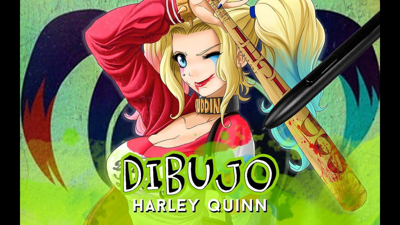 Como Dibujar A Harley Quinn How To Draw Harley Quinn