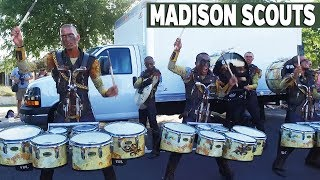 DCI 2017: MADISON SCOUTS - IN THE LOT (San Antonio)
