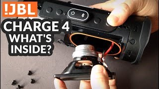 JBL Charge 4 - What's Inside?