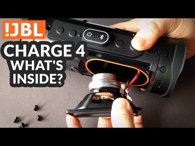 JBL Charge 4 - Whats Inside?