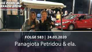 Pierre M. Krause Show vom 24.03.2020 mit Panagiota und ela.