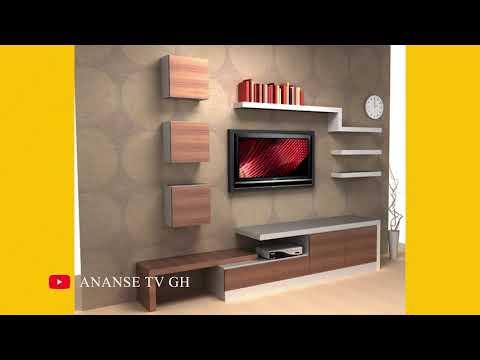 60+ Modern TV cabinet design living room wall units 2019/2020