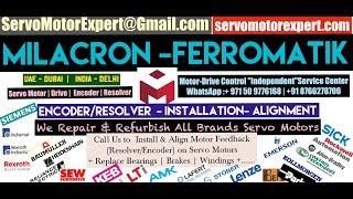 Milacron Ferromatik New Servo motor Dealer in Stock buy stock Encoder Resolver Angle Adjust Align