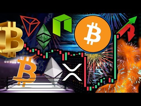 Bitcoin Bounces Back!!! NEO: Ethereum WILL Overtake Bitcoin?
