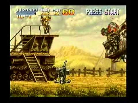 Let's Play Metal Slug 3 Part 3 - Sky Pilots and Space Invaders!