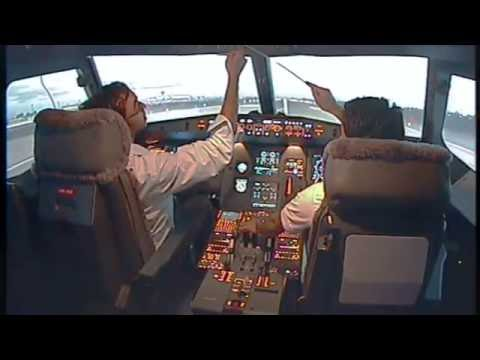 Flying the A320 - Singapore