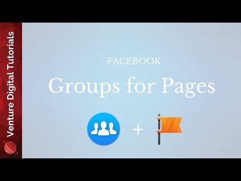 NEW Facebook Groups For Pages!