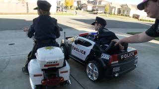 Sidewalk Cops 2 | Bloopers | Kids Videos | Police kIds