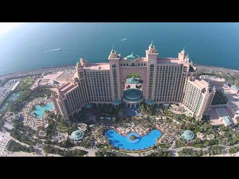 Phantom 2 Vison+ The Atlantis Hotel Dubai
