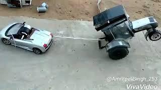 RC car vs rc tractor