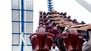 GateKeeper Back Seat Left Side POV 2014 FULL HD Cedar Point