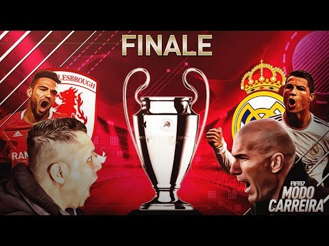 FINAL DA CHAMPIONS LEAGUE!!!! FIFA 17 - MODO CARREIRA  - O FINALE