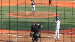 今季初スタメンの指名打者・石川選手 第4打席 ロッテ3番手・香月投手...