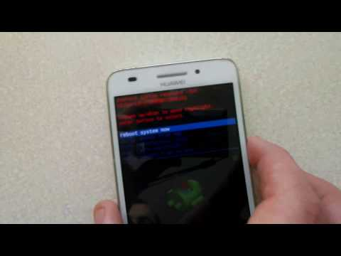 Huawei ascend G620s HARD RESET