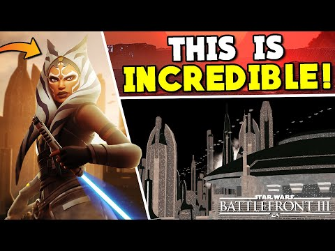 THIS IS WILD: Leaked Battlefront 3 Image & Gameplay Details - Ahsoka, Coruscant, & More! |