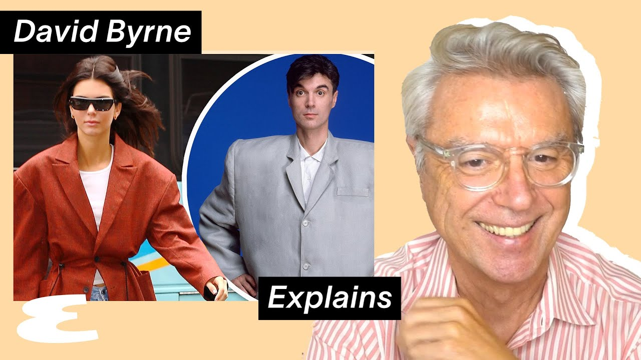 David Byrne Reacts to Kendall Jenner's Big Suit & His Own Career Highlights | Explain This | Esquire