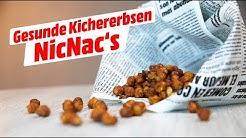 Sabrina's gesunde NicNac's - der leckere Kichererbsensnack!