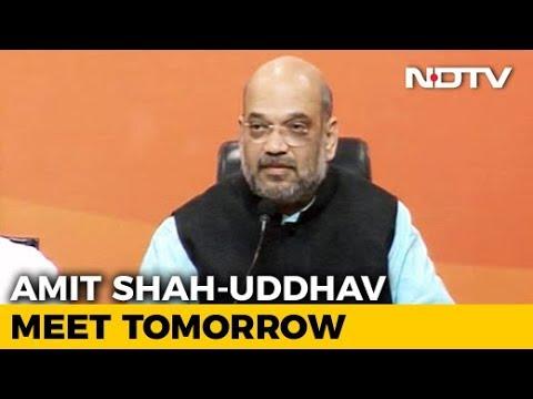 Amit Shah To Meet Shiv Sena's Uddhav Thackeray After Bypolls Widen Rift