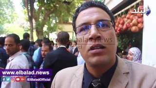 شاهد.. حملة الماجستير يعاودون التظاهر أمام مجلس الوزراء للمطالبة بالتعيين