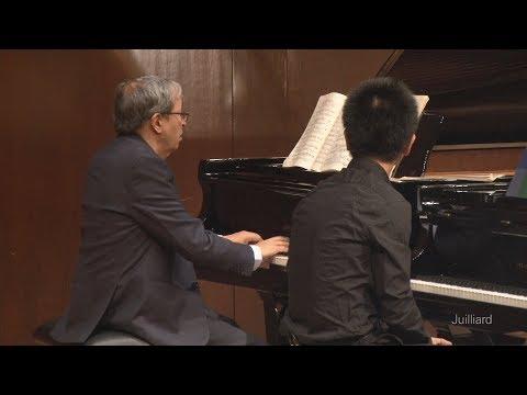 Qi Xiu: Beethoven's 'Hammerklavier' Sonata | Juilliard Murray Perahia Piano Master Class