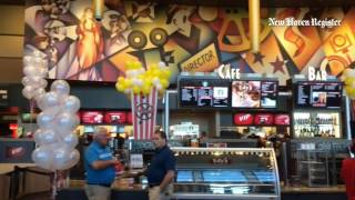 cinemark a texas based movie theater chain opened its new theater thursday in north haven it spen