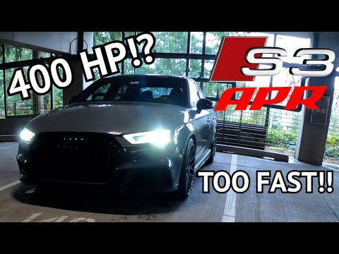 400HP APR STAGE 2 AUDI S3 IS QUICKER THAN YOU THINK!