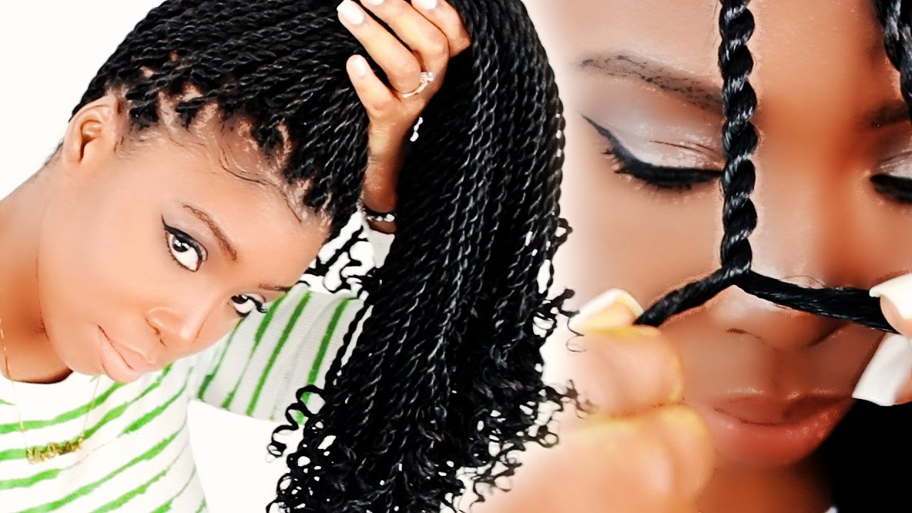 How To: Senegalese Twists FOR BEGINNERS! (Step By Step